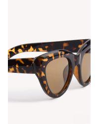 NA-KD - Red Cat Eye Sunglasses - Lyst