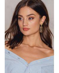 NA-KD   Metallic Earrings   Lyst