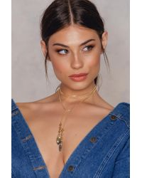 Vanessa Mooney - Metallic The Knoxville Bolo Necklace - Lyst