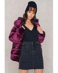 NA-KD | Black Two Tone Pocket Skirt | Lyst
