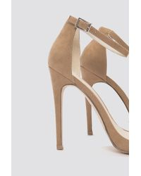 NA-KD - Natural The High Heel Nude - Lyst