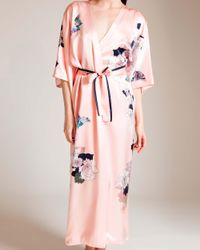 Meng - Pink Butterfly Lovers Kimono Robe - Lyst