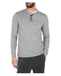 Napapijri   Gray Long Sleeve T-shirt for Men   Lyst