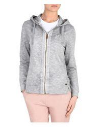 Napapijri | Gray Full Zip Fleeces | Lyst