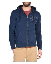 Napapijri   Blue Full Zip Fleeces for Men   Lyst