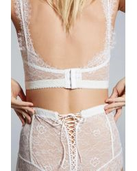 Nasty Gal - White Love, Courtney By Sugar Coma High-waisted Lace Panty - Lyst