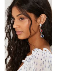 Nasty Gal | Metallic Primary Drop Earrings | Lyst