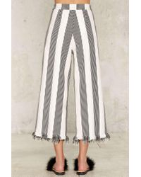 Nasty Gal | Multicolor All The Stripe Moves High-waisted Pants | Lyst