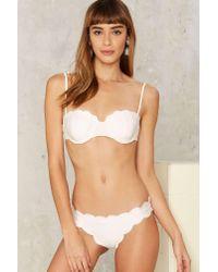 217faa7c42 Lyst - Lolli Happy Clam Scalloped Bikini Bottom