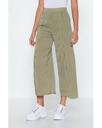 """Nasty Gal Multicolor """"don't Slit On The Fence Striped Pants"""""""