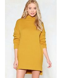 38fe08761e75 Nasty Gal Just Chill Babe Sweater Dress Just Chill Babe Sweater ...