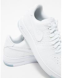 Nike - Flyknit Low In White - Lyst