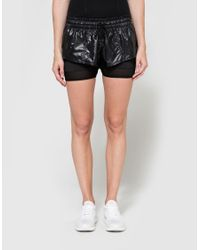 Adidas By Stella McCartney - Black Run 2 In 1 Short - Lyst
