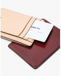 Il Bussetto - Red Card And Document Holder - Lyst