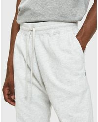 Reigning Champ - Gray Slim Terry Sweatpant In Heather Ash for Men - Lyst