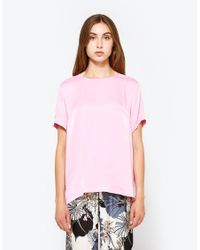 Just Female | Pink Fusion Tee | Lyst