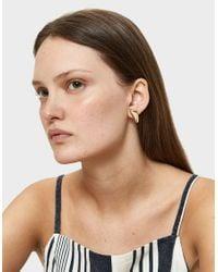 Faris - Metallic Single Right Cap Earring - Lyst
