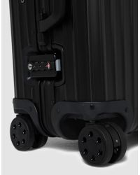 "Rimowa - Black Topas Stealth 22"" Multiwheel 45.0l for Men - Lyst"