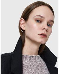 Pamela Love - Multicolor 5 Spike Earring In Rose Gold - Lyst