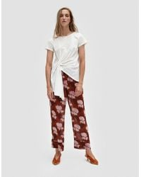 Which We Want - Natural Gathered Tee - Lyst