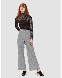 Ganni - Multicolor Flynn Lace Long Sleeve Bodystocking - Lyst