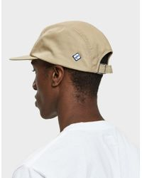 Larose Paris - Brown Water Repellent 5-panel Cap In Tan for Men - Lyst