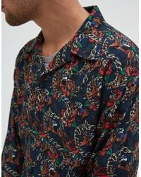 Éditions MR - Multicolor Musketeer Shirt In Night for Men - Lyst
