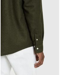 Soulland - Green Tom Western Shirt for Men - Lyst