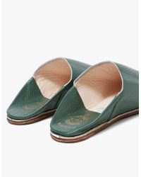 Need Supply Co. - Babouche Slides In Dark Green - Lyst