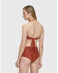 The Ones Who - Multicolor Madeline Swim Top - Lyst