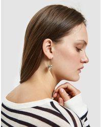 Pamela Love - Metallic Small Lotus Earrings - Lyst