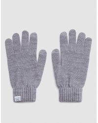 Norse Projects Gray Norse Gloves for men
