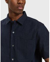 Margaret Howell - Blue 50's Shirt In Indigo for Men - Lyst