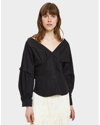 Rachel Comey - Revise Crisp Shirt In Black - Lyst