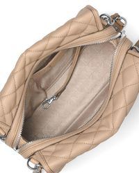 MICHAEL Michael Kors - Multicolor Rachel Medium Quilted Leather Satchel Bag - Lyst