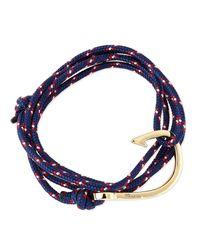 Miansai - Blue Rope Navy Bracelet - Lyst