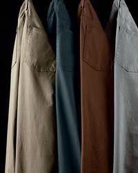 J Brand - Brown Kane Straight-leg Twill Pants for Men - Lyst