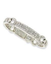 Konstantino | Metallic Men's Sterling Silver Id Bracelet for Men | Lyst
