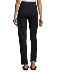 NYDJ - Black Boot-Cut Sweatpants - Lyst