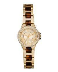 Michael Kors | Metallic 26mm Petite Camille Glitz Watch | Lyst