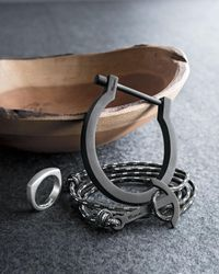 Miansai | Black Modern Anchor Rope Bracelet | Lyst