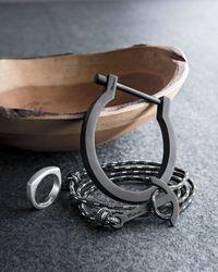 Miansai | Metallic Rnd Tp Rng Strlg Sil for Men | Lyst