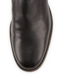 Delman - Brown Corie Leather Chelsea Boot - Lyst