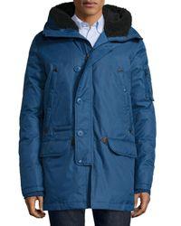 Spiewak   Brown Tech N3-b Snorkel Hooded Coat for Men   Lyst