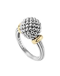 Lagos | Metallic Caviar Forever Medium Dome Ring | Lyst