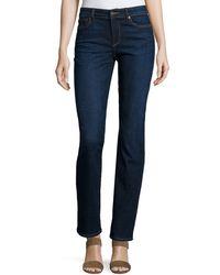 CJ by Cookie Johnson   Blue Faith Straight-leg Jeans   Lyst