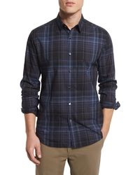 Theory | Multicolor Zack Ps Multi-plaid Sport Shirt for Men | Lyst