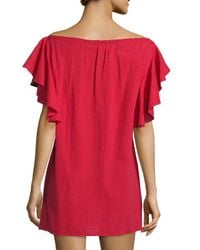 Townsen - Bogo Off-the-shoulder Embroidered Dress - Lyst
