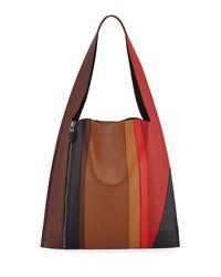 Elena Ghisellini - Multicolor Estia Sensua Leather Hobo Bag - Lyst