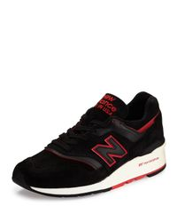 New Balance | Red Men's 997 Explore By Air Suede Sneaker for Men | Lyst